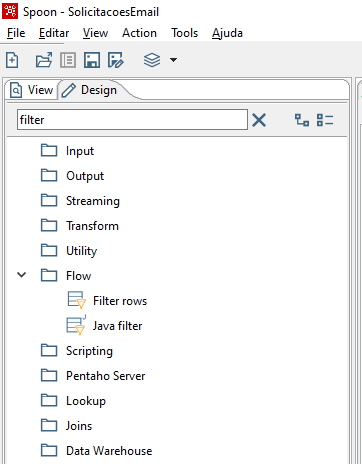 Figura 9 - Filtrando os e-mail's